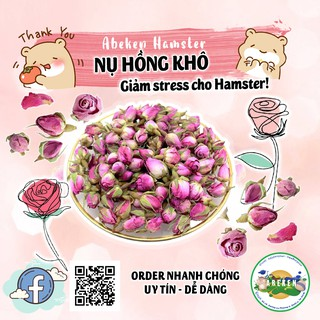 Nụ hồng khô nguyên búp siêu thơm dành cho Hamster thumbnail