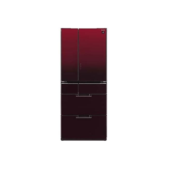 Tủ lạnh 6 cánh Sharp SJ-GF60A-R, 601 lít, Inverter