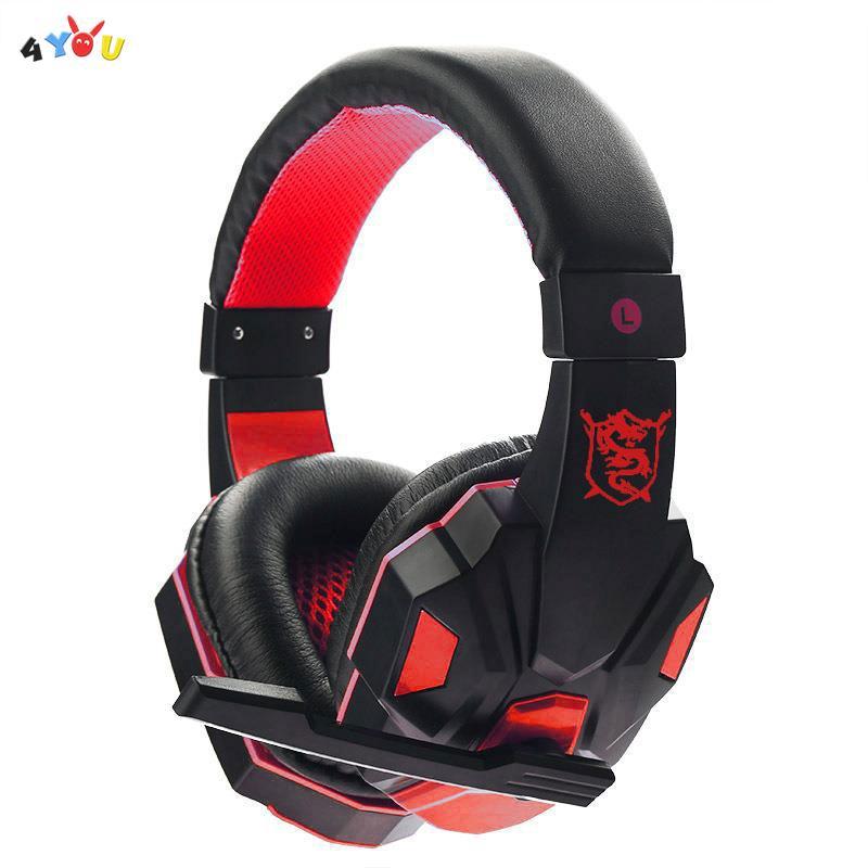 Tai nghe gaming chụp tai 3.5mm có mic cho PC , Laptop