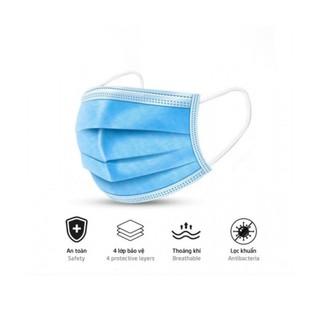 Khẩu Trang Y Tế TSIMPLE 4 lớp kháng khuẩn chuẩn y tế lớp hoạt tính chống thấm nước và bụi mịn 1