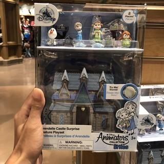 Shanghai Disney Frozen Doll Princess Aisha Chalet Aisha Queen's Cabin Singing Toys Sound