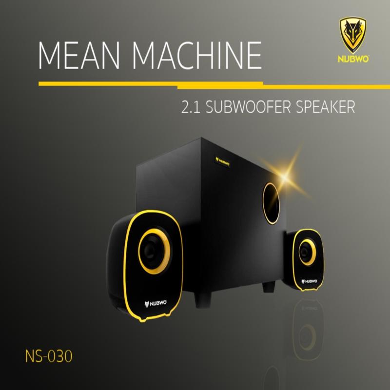 ลำโพง NUBWO USB Speaker 2.1 Mean Machine NS-030