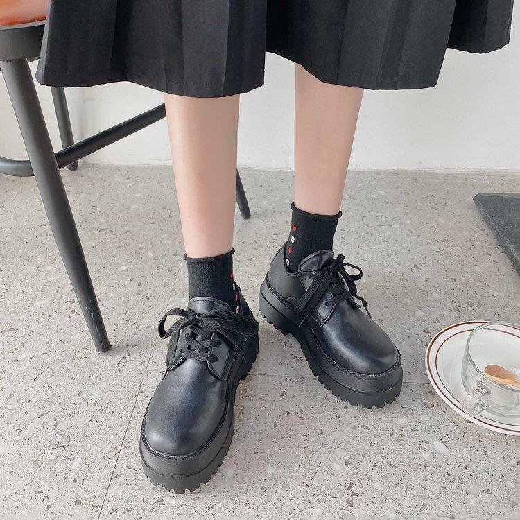 Giày Nữ Cột Dây Đế Dày Thoải Mái Thời Trang
