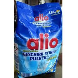 Bột rửa chén bát ly hiệu Alio hàng Đức túi 1,8kg