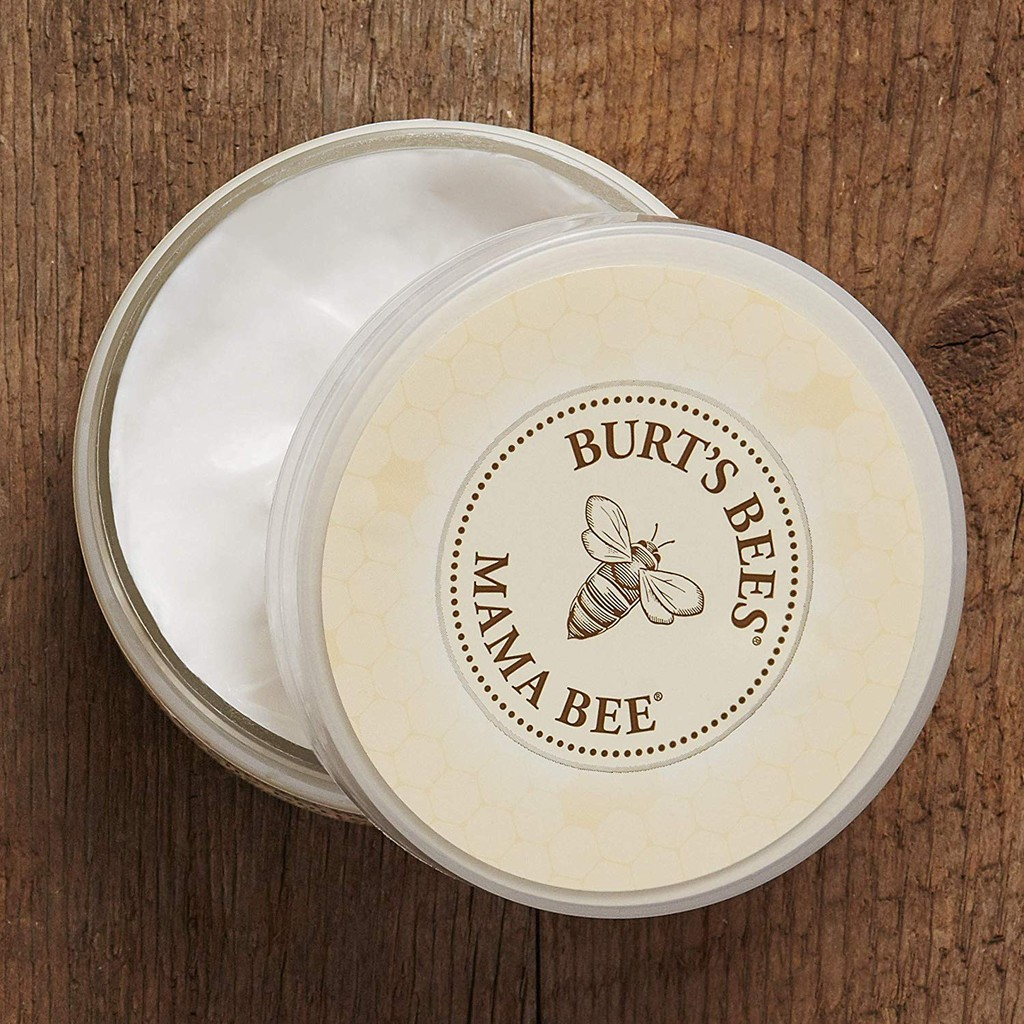 {Mới} Kem Chống Rạn Da Tự Nhiên Cho Mẹ Bầu Burt's Bees MAMA Belly Butter Có Shea Butter & Vitamin E 99% Natural Burt Bee