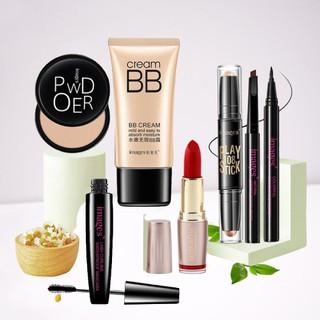 Bộ trang điểm MỚI IMAGES 7 món đầy đủ cho người mới bắt đầu set makeup chuyên nghiệp bút tạo khối, son, phấn phủ,... thumbnail