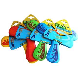 1PC Three-blade Boomerang Shot Children EVA Outdoor Safe Sport Toy – Color Random