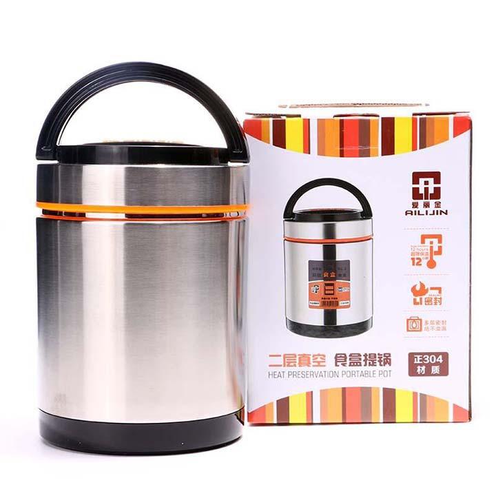 Bình ủ cháo giữ nhiệt inox đa năng 1 lít 4