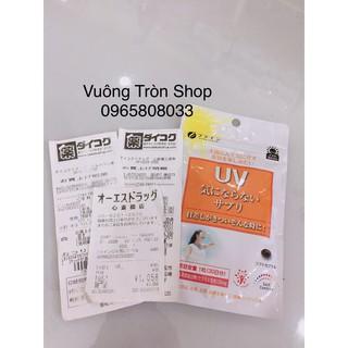 Viên uống chống nắng UV FINE JAPAN UV Plus+ Block100 45 viên thumbnail