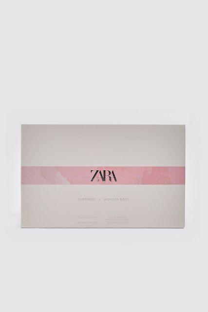 Set 2 chai nước hoa Zara Wonder rose + Tuberose 100ml