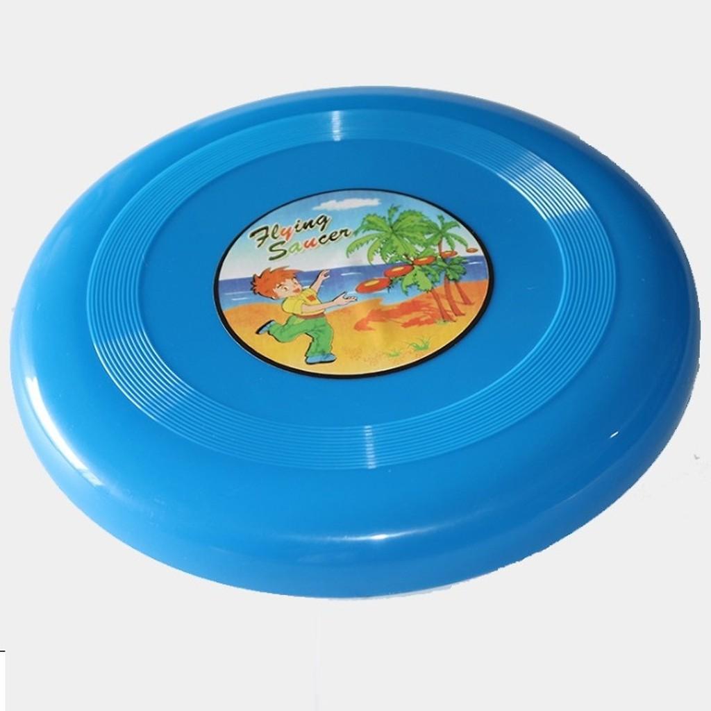 Đĩa nhựa bay FLYING cỡ 22x2cm chất liệu PE cao cấp - Trò chơi ném đĩa