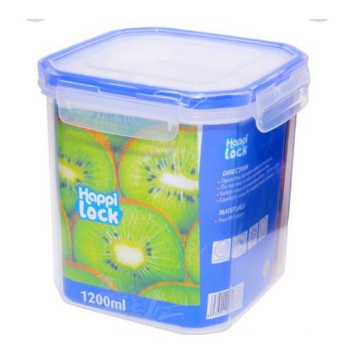 Bộ 2 hộp nhựa happi lock 900ml và 1200ml
