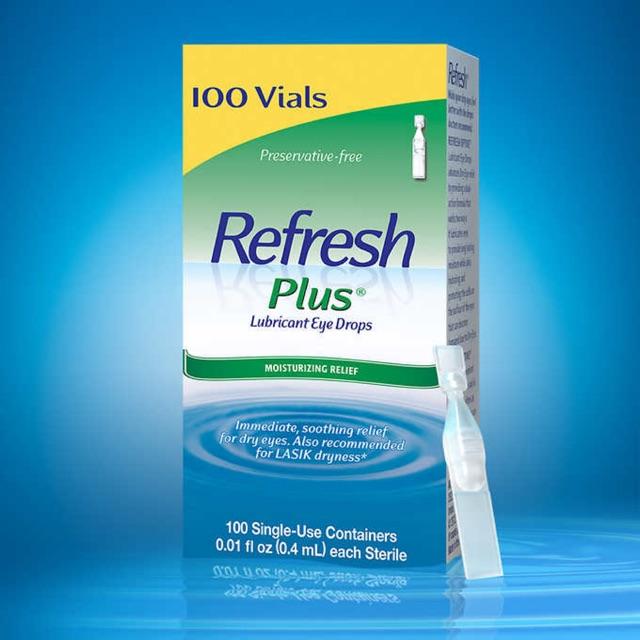 Nước nhỏ mắt Refresh Plus (100 ống)