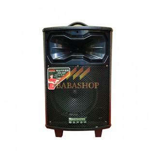 Loa Kéo Karaoke Mini Temeisheng QX-0831 ( ĐỜI MỚI ), Loa Thùng Gỗ Bass 2 Tấc Công Suất Lớn, Karaoke Âm Thanh Chất Lượng thumbnail