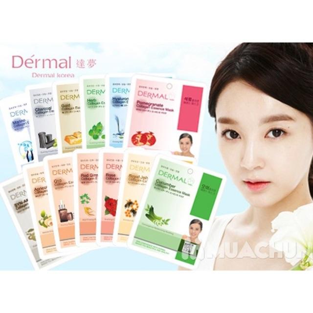 Combo 10 Mặt nạ Collagen Dermal Collagen Essence Mask Korea - 9994767 , 1169649038 , 322_1169649038 , 250000 , Combo-10-Mat-na-Collagen-Dermal-Collagen-Essence-Mask-Korea-322_1169649038 , shopee.vn , Combo 10 Mặt nạ Collagen Dermal Collagen Essence Mask Korea