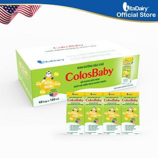 Thùng 48 hộp Sữa bột pha sẵn ColosBaby 180ml hộp