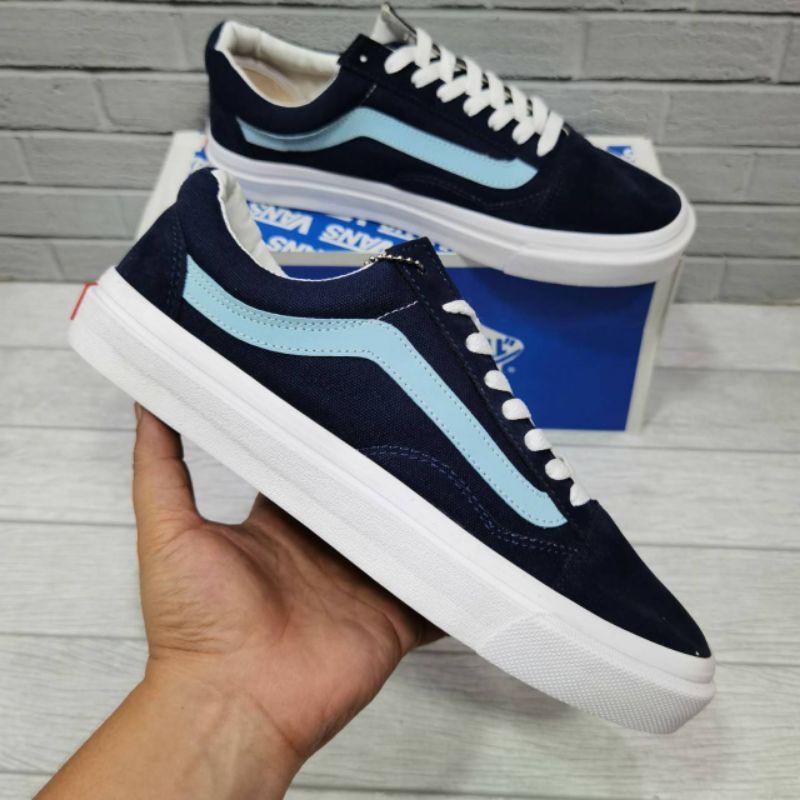 Giày Sneakers Vans Old Skool Vault Phối Màu Cá Tính Trẻ Trung
