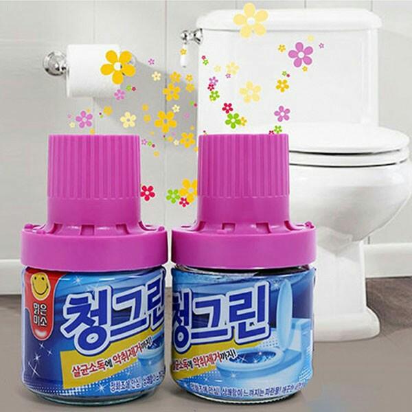 Lọ tẩy bồn cầu tự động Hàn Quốc
