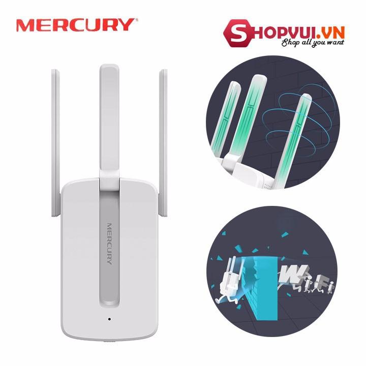 [Nhập ELCLMAY hoàn 30K xu đơn từ 200K]Kích Sóng Wifi Mercury 3 râu Giá chỉ 200.000₫