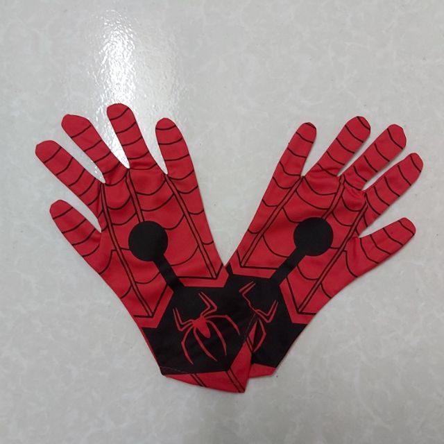 Phụ kiện bao tay Siêu nhân Nhện SPIDERMAN free size