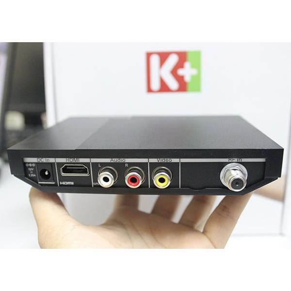 Truyền hình k+ đầu thu HD vệ tinh xem 130 kênh đặc sắc