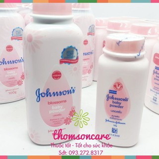 Phấn rom em bé Jonhson baby - an toàn - không gây dị ứng Chính hãng thumbnail