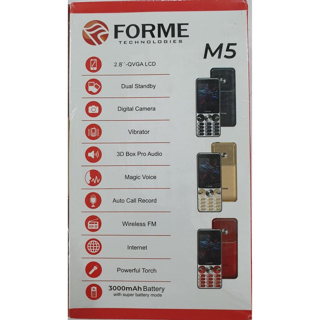 Điện Thoại Forme M5 - Hàng Chính Hãng