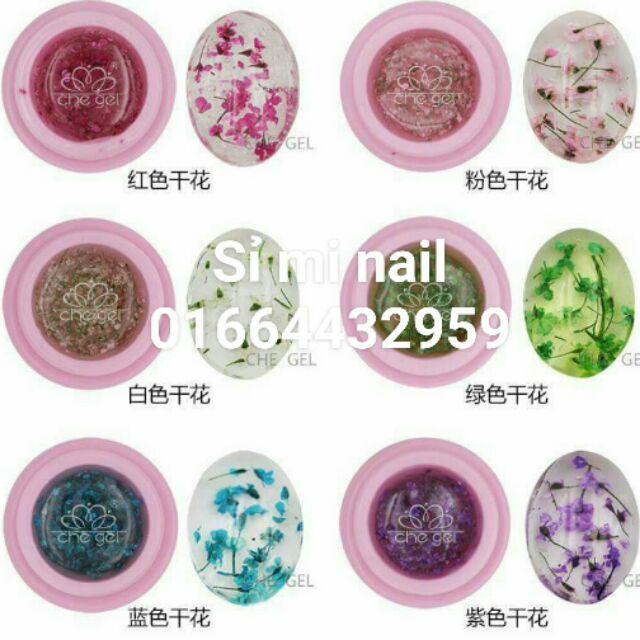 Gel hoa khô ẩn phụ kiện độc đáo đẹp lạ giúp trang trí móng xinh tuyệt vời. 6 màu cơ bản cute giúp th - 3173290 , 484865308 , 322_484865308 , 50000 , Gel-hoa-kho-an-phu-kien-doc-dao-dep-la-giup-trang-tri-mong-xinh-tuyet-voi.-6-mau-co-ban-cute-giup-th-322_484865308 , shopee.vn , Gel hoa khô ẩn phụ kiện độc đáo đẹp lạ giúp trang trí móng xinh tuyệt vời.