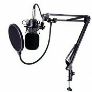 Micro thu âm BM900 cả chân giá micro và lọc