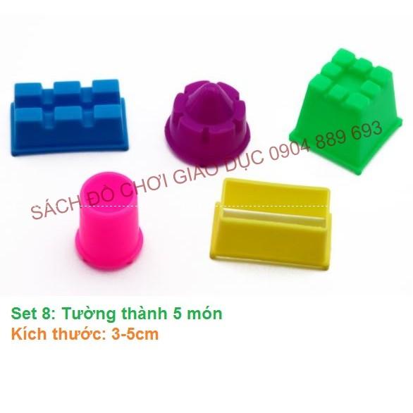Đồ chơi đi kèm với cát Kinetic Sand wabafun, Set 8: Tường thành 5 món - 2659593 , 957523650 , 322_957523650 , 10000 , Do-choi-di-kem-voi-cat-Kinetic-Sand-wabafun-Set-8-Tuong-thanh-5-mon-322_957523650 , shopee.vn , Đồ chơi đi kèm với cát Kinetic Sand wabafun, Set 8: Tường thành 5 món