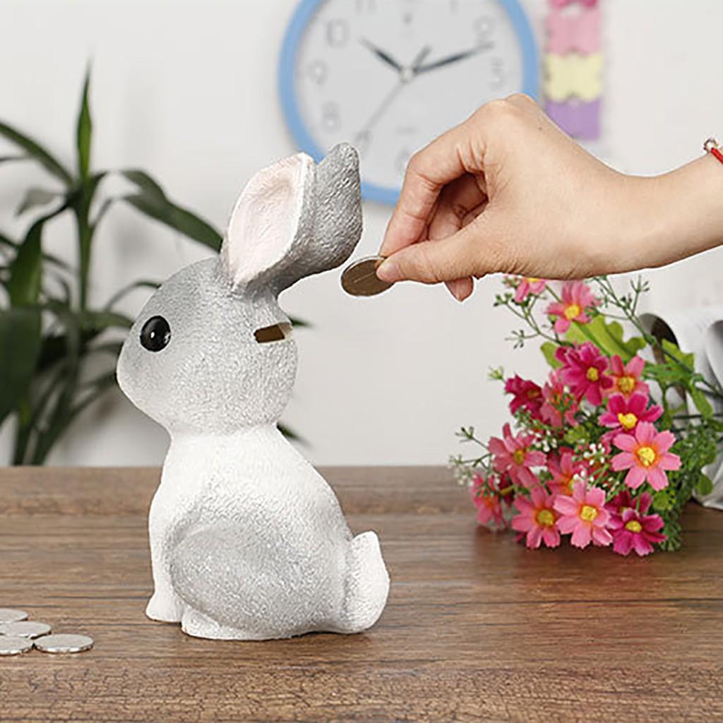 Ống tiết kiệm tiền hình thỏ dễ thương