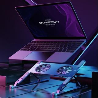 Boneruy gấp lưu trữ hợp kim nhôm máy tính xách tay tản nhiệt, đế MacBookPro, Đế máy tính bảng thumbnail