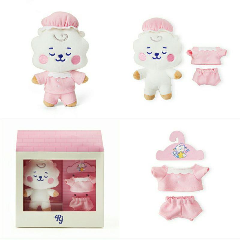 [ săn sale new goods BT21 Limited ] Dream baby BT21 - gấu bông búp bê đồ ngủ, quần áo...