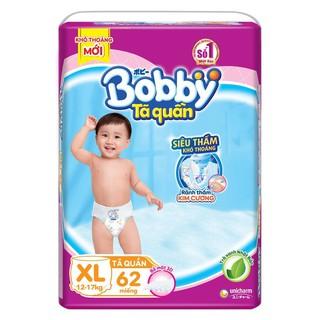 Tã Quần BOBBY XL 62 Miếng - Bỉm Quần BOBBY XL62 Miếng