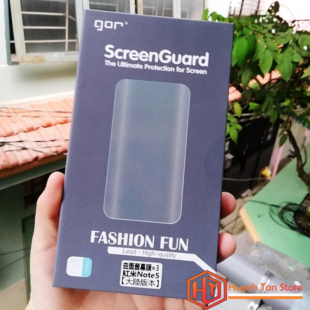 Dán dẻo full màn Xiaomi Redmi Note 5 / Note 5 Pro chính hãng Gor (bộ 3 miếng dùng được 3 lần) - 2962202 , 1186389049 , 322_1186389049 , 99000 , Dan-deo-full-man-Xiaomi-Redmi-Note-5--Note-5-Pro-chinh-hang-Gor-bo-3-mieng-dung-duoc-3-lan-322_1186389049 , shopee.vn , Dán dẻo full màn Xiaomi Redmi Note 5 / Note 5 Pro chính hãng Gor (bộ 3 miếng dùng