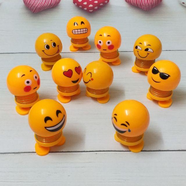 Thú nhún Emoji – Con lắc lò xò