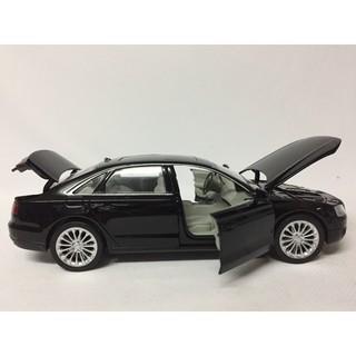 Mô hình xe Ô TÔ Audi A8 tỷ lệ 1:32