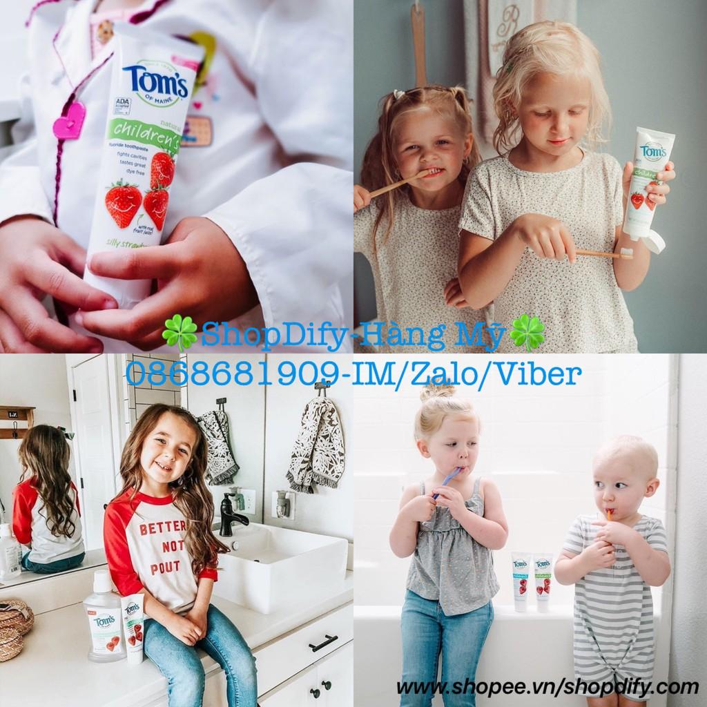 Kem Đánh Răng Trẻ Em 100% Tự Nhiên Của Mỹ Cho Bé Yêu TOM'S OF MAINE 144g