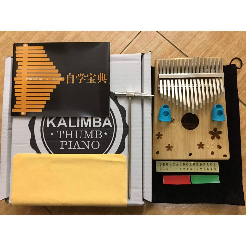 Đàn Kalimba Agelin (Thumb Piano) 17 Phím Cao Cấp Gỗ Tròn Hoa - 3495683 , 1345293263 , 322_1345293263 , 1089000 , Dan-Kalimba-Agelin-Thumb-Piano-17-Phim-Cao-Cap-Go-Tron-Hoa-322_1345293263 , shopee.vn , Đàn Kalimba Agelin (Thumb Piano) 17 Phím Cao Cấp Gỗ Tròn Hoa