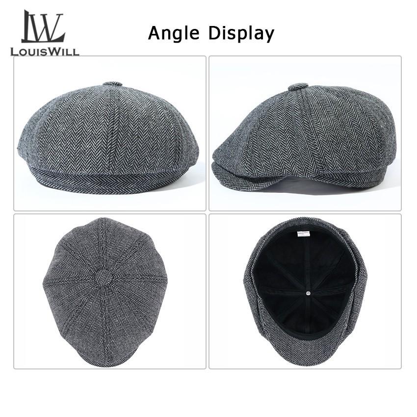 Mũ Beret LOUISWILL Phong Cách Thời Trang Dành Cho Nam