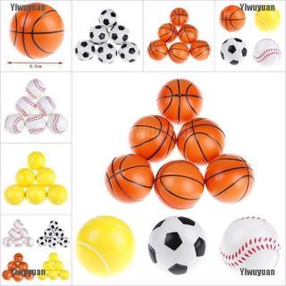 Yiwuyuan 6Pcs 6.3Cm Childrens Vent Balls Soccer Stress Balls For Stress Relief Ball Games