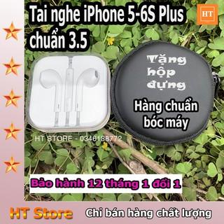 [Mã ELFLASH5 giảm 20K đơn 50K] Tai Nghe IPHONE 6s Zin Bóc Máy Chính Hãng (TẶNG BAO DA)