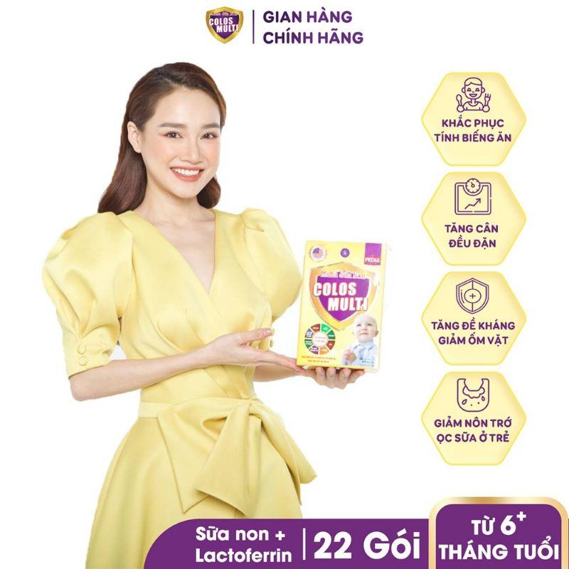 Sữa bột Mama Sữa Non Colos Multi Pedia hộp 22 gói x 16g - 352g