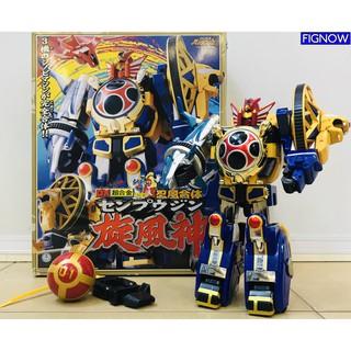 [Hàng có sẵn] Mô hình đồ chơi chính hãng Bandai DX Senpujin – Ninpuu Sentai Hurricaneger