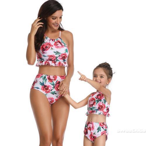 Set Bikini áo phối bèo + quần lưng cao cho mẹ và bé - 22165426 , 2001029916 , 322_2001029916 , 225697 , Set-Bikini-ao-phoi-beo-quan-lung-cao-cho-me-va-be-322_2001029916 , shopee.vn , Set Bikini áo phối bèo + quần lưng cao cho mẹ và bé