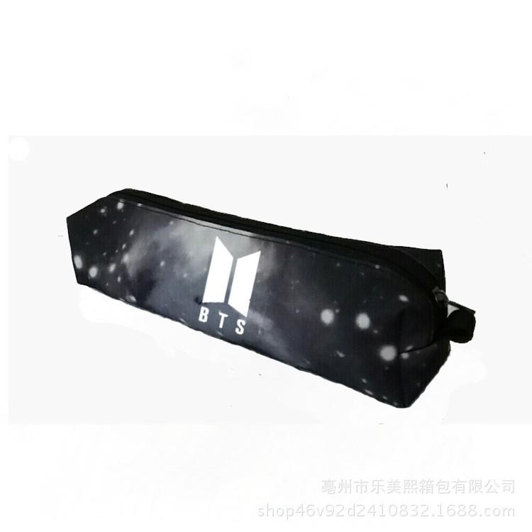 Túi bút BTS galaxy vải canvas xịn