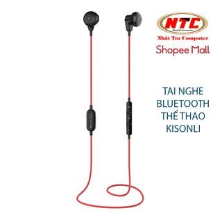Tai nghe bluetooth stereo Kisonli AP-2 siêu nhẹ - chuyên thể thao (đen) thumbnail