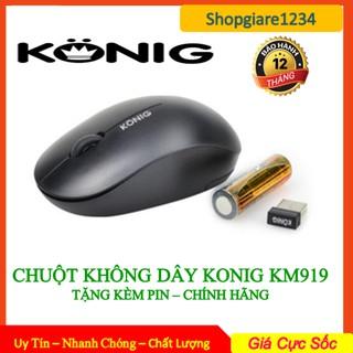 Chuột không dây KONIG KM919 Chính hãng - Bảo hành 12 tháng 1 đổi 1 thumbnail