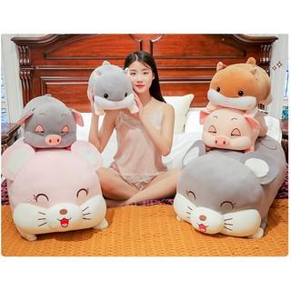 Chuột Bông, Gối Ôm Dễ Thương Mẫu Siêu Hot - Kích Thước 70cm - Hàng VNXK thumbnail