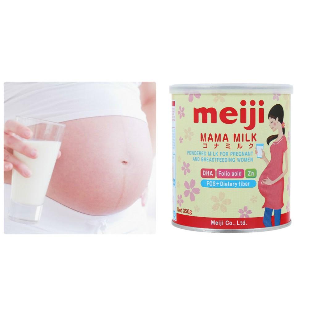 Sữa bầu Meiji hộp 350g date 2018